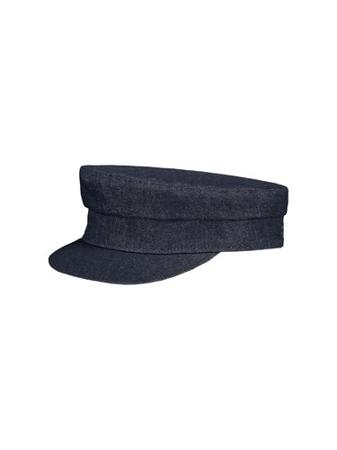 Skipper cap, Denim
