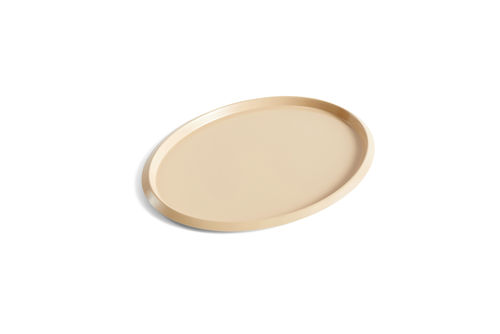 Ellipse tray M, beige
