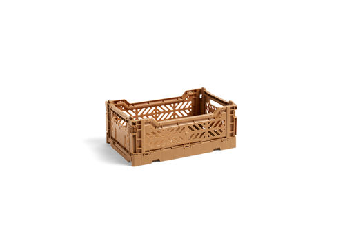Colour  Crate kori, S, tan