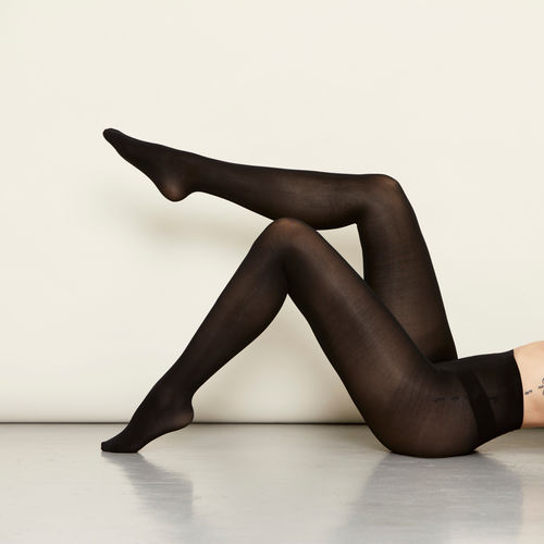 The 3D Pantyhose, All Black, sukkahousut (2 paria)