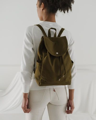 Drawstring Backpack, levä