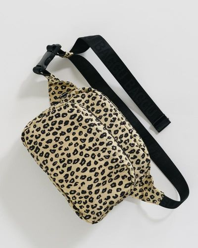 Fanny pack, Leopard honey
