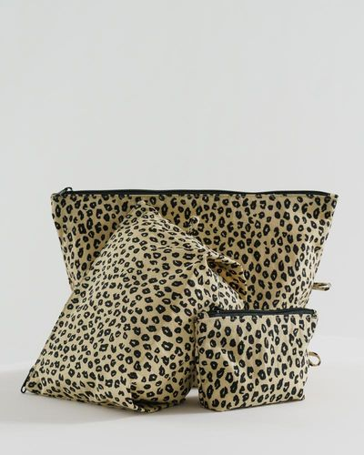 Go Pouch Set, Leopard honey