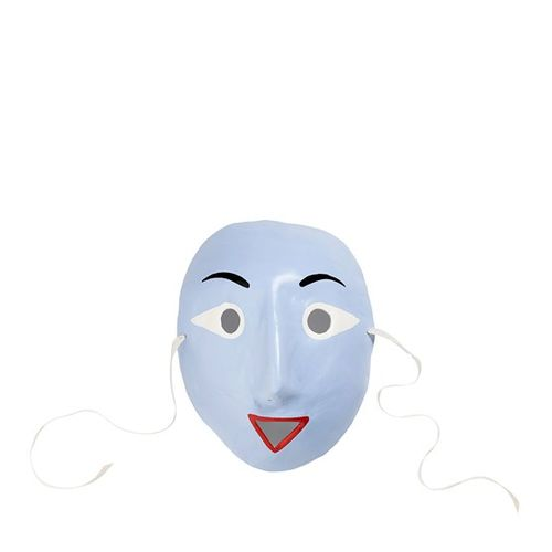Mood mask, vaaleansininen