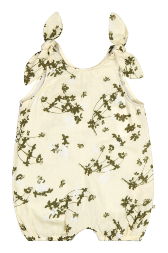 Balloon Playsuit, Clover Blossom