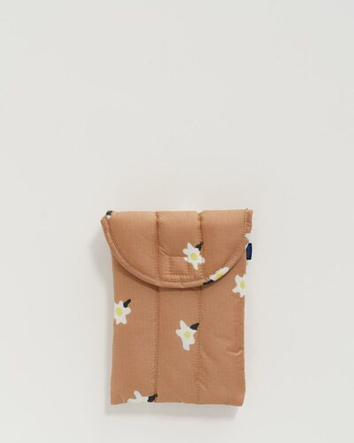 "Puffy tablet sleeve 8"", Painted daisy"