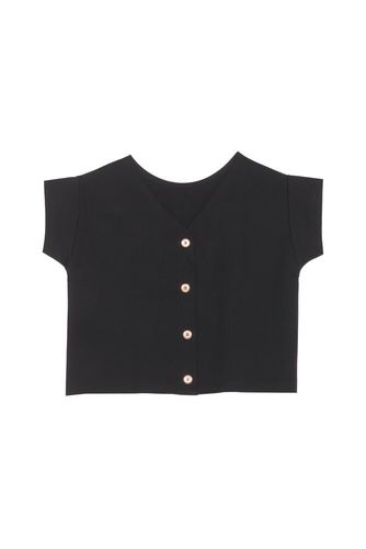 Celene Top, Black