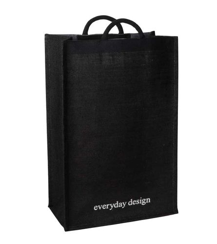 Everyday design XL -juuttikassi, musta
