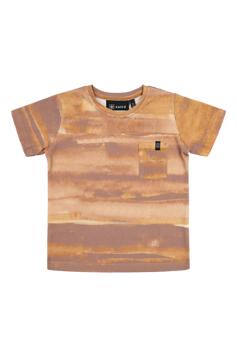 Treasure t-shirt, Ginger canvas